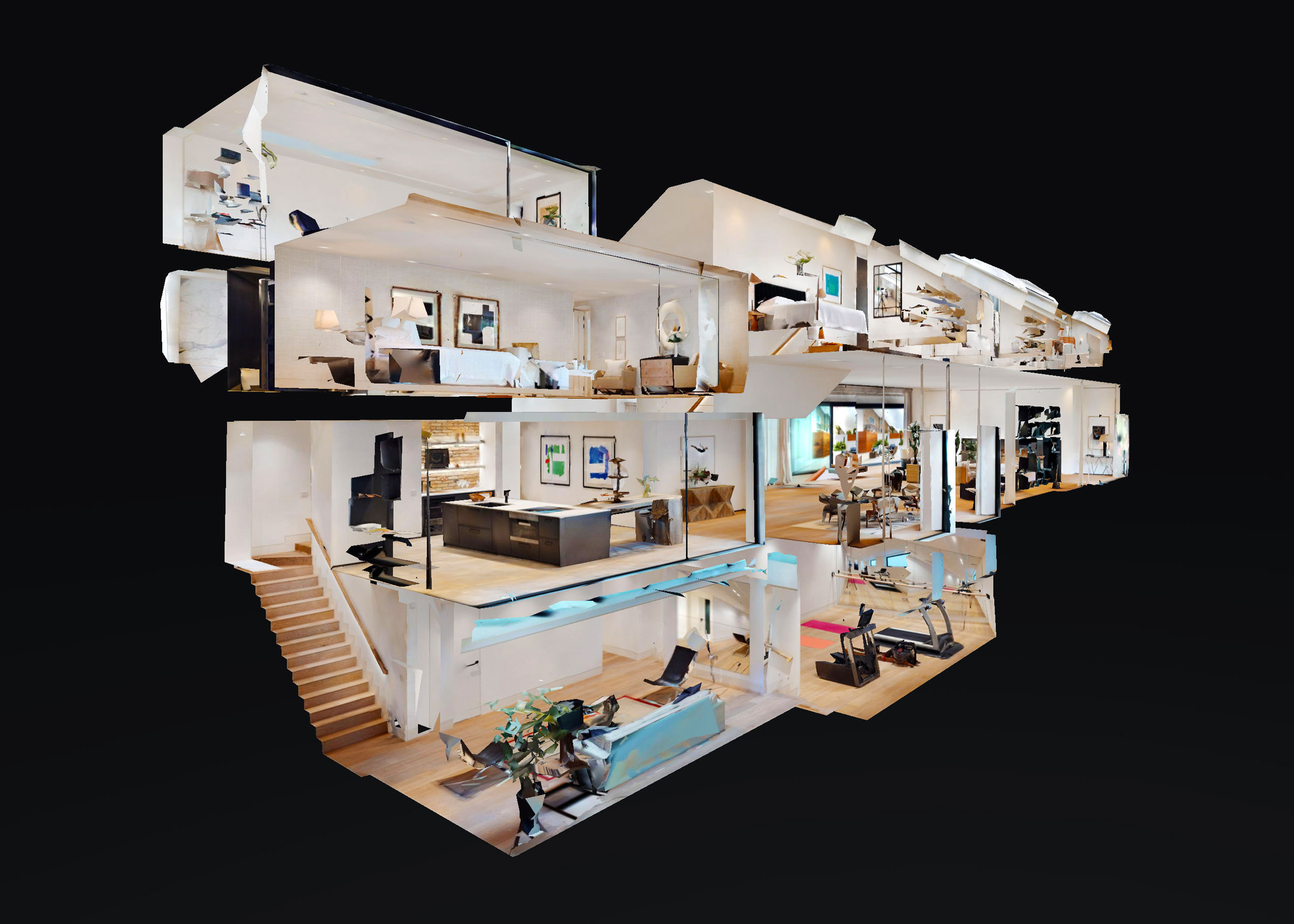 Dollhouse visite virtuelle matterport