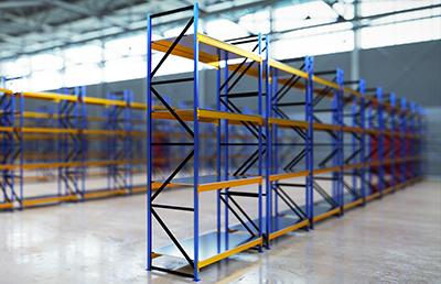 Entrepôt vide pour visite 3D