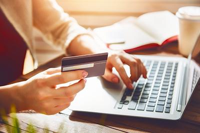 E-commerce et achat en ligne sur boutique en ligne