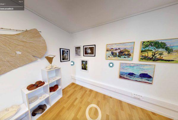 Exposition musée visite virtuelle
