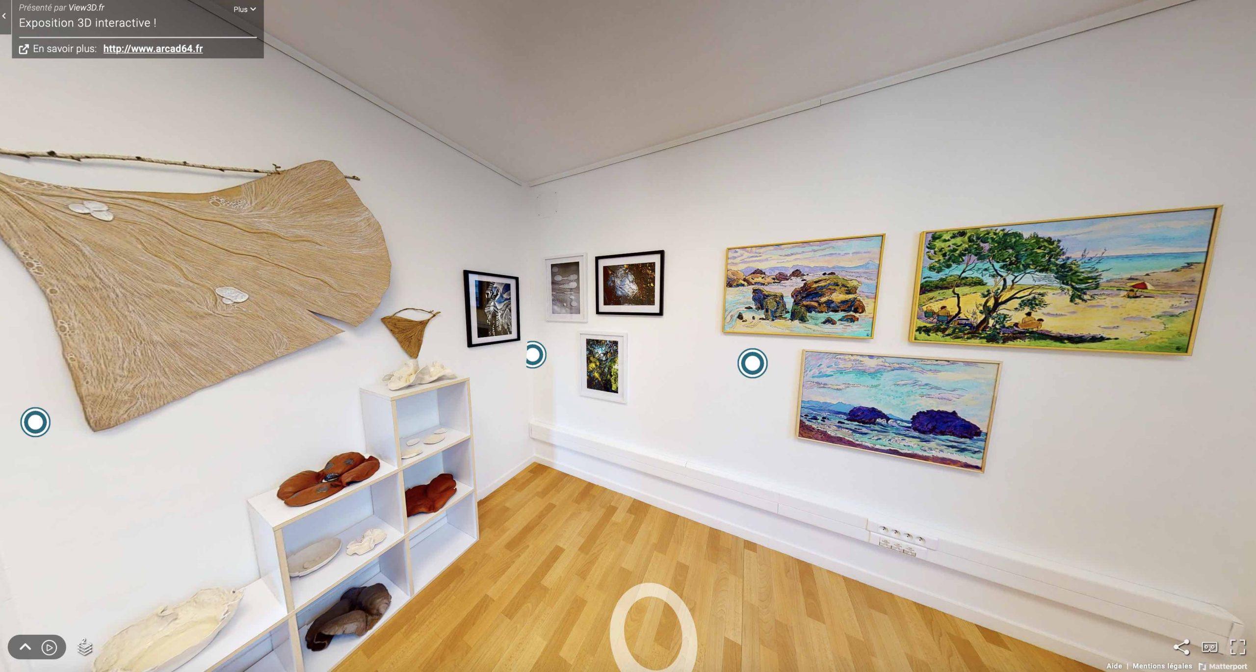 La visite virtuelle au service des musées, galeries d'arts et exposition